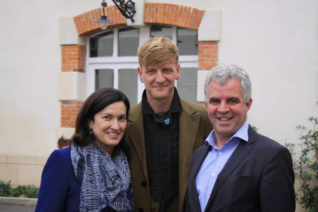 Margareth Henriquez, Ozark Henry et Olivier Krug