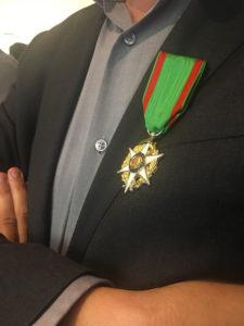 La médaille de Chevalier du Mérite agricole