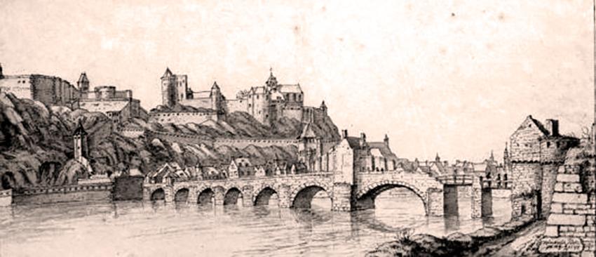 Le pont de Jambes