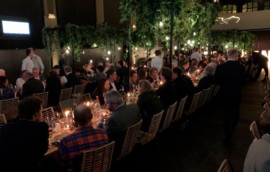 """Très beau souper """"au jardin"""" des bordeaux"""