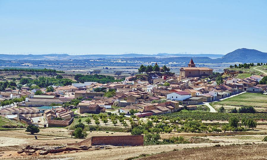 Le village d'Higuerela